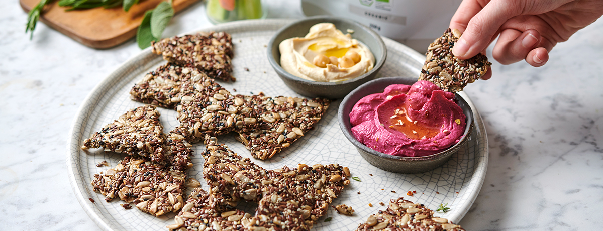 Crackers maison foodspring